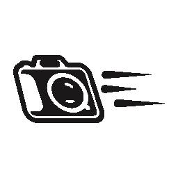 写真カメラのバリアントの無料アイコンの移動