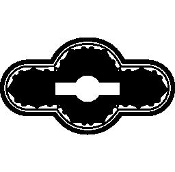 水平鍵穴形状無料アイコン