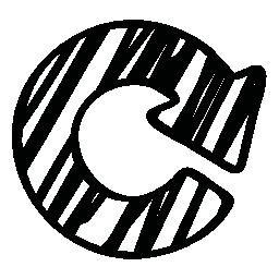 無料アイコンのスケッチの円形矢印