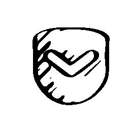 ポケット スケッチ社会的シンボル無料アイコン