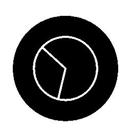 サークル無料アイコンで円形グラフィック概要インタ フェース シンボル