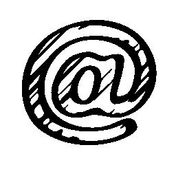 アロバ スケッチ社会的シンボル概要無料アイコン