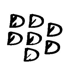 ブラックベリー スケッチ社会ロゴ概要無料アイコン