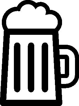 ビール飲む jar 概要無料アイコン