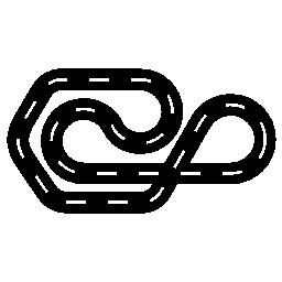 モーター スポーツ サーキット無料アイコン