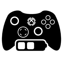 ゲーム コントロールの無料のアイコンの中バッテリー ステイタス ・ シンボル