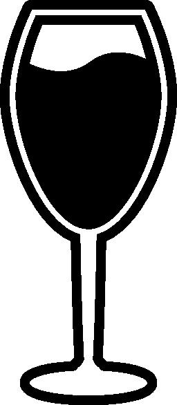 ワイン グラス無料アイコン