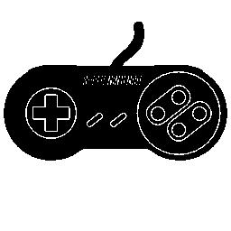 ゲームのコントロールのスーパー任天堂無料アイコン