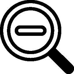 インタ フェースのアウトライン シンボル無料のアイコンを縮小します。