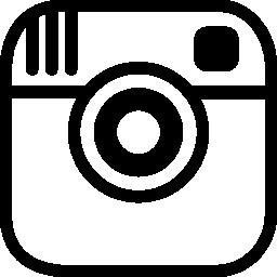 Instagram の写真カメラのロゴ概要無料アイコン