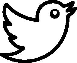 さえずり鳥ロゴ概要無料アイコン