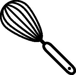泡立て器調理ツール無料アイコン