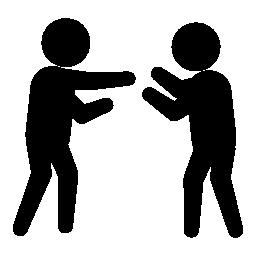 犯罪人の無料のアイコンとの戦い
