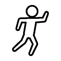 階平面図無料アイコンから刑事形状のアウトライン