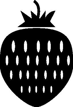 イチゴ果実の無料アイコン