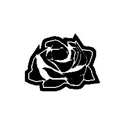 バラ フラメンコ髪アクセサリー無料アイコン