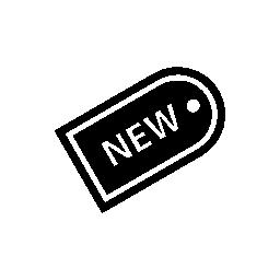 新しい製品ラベル無料アイコン