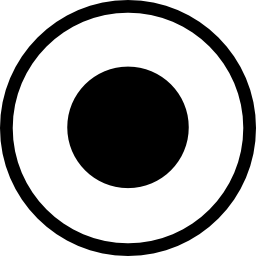 サークル無料アイコンの atom 円形のシンボル