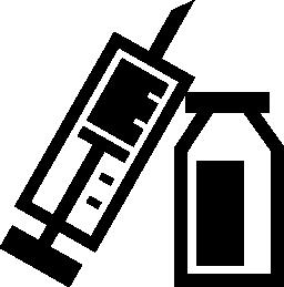 薬物注射無料アイコン