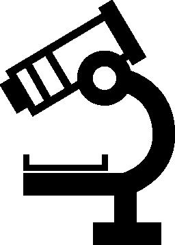 顕微鏡側面ビュー無料アイコン