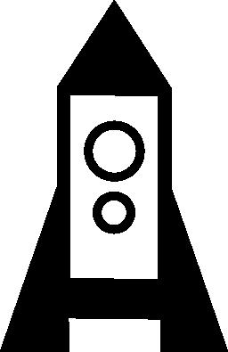 ロケット船無料アイコン