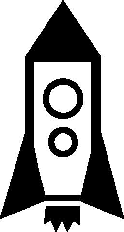 ロケット宇宙船無料アイコン