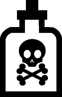 ボトルの無料アイコンの死