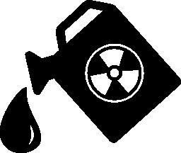 危険な物質の無料アイコン