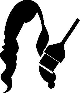 長い女性の毛チンキ無料アイコン