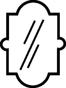 エレガントなミラー無料アイコン