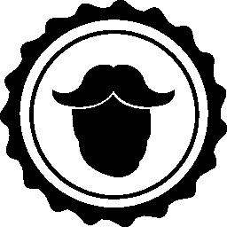髪サロン男性シンボル無料アイコン