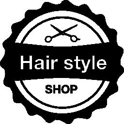 髪スタイル ショップ信号無料アイコン
