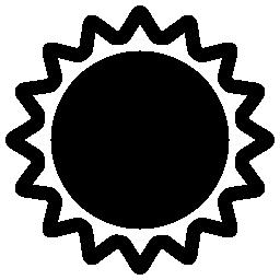 金環日食無料アイコン