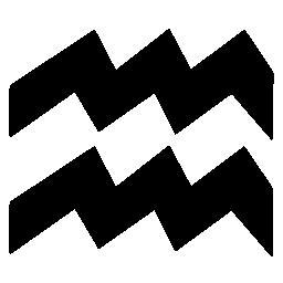 アクエリアス星座無料アイコン