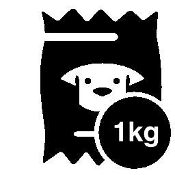 1 kg の犬食品無料アイコン