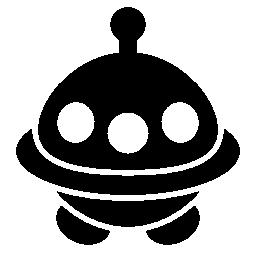 宇宙船図形無料アイコン