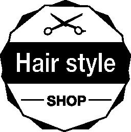 髪サロン商業信号無料アイコン