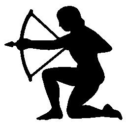 射手座のシンボル無料アイコン
