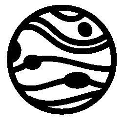 惑星無料アイコン