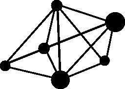 幾何学的なリンク無料アイコン