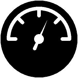 スピード メーター円形ツール シンボル無料アイコン