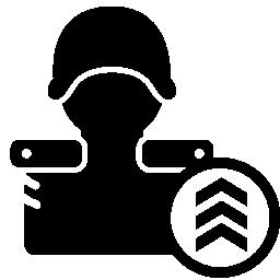 ゲーム レベル ガード シンボル無料アイコン