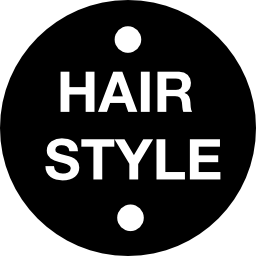 髪スタイル メダル無料アイコン