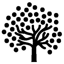 ドット葉無料アイコンのツリー