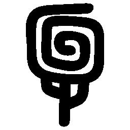 スパイラル無料アイコンとツリーの形状