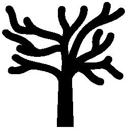 裸の木の枝の無料のアイコン