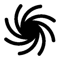 銀河の螺線形の無料のアイコン