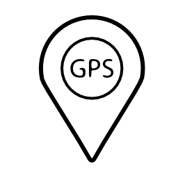 GPS 携帯電話のインタ フェース シンボル無料アイコン