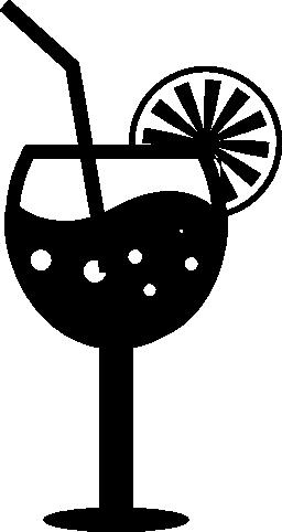 新鮮な夏のカクテル無料アイコン