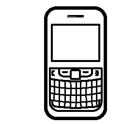 電話のボタン無料アイコン